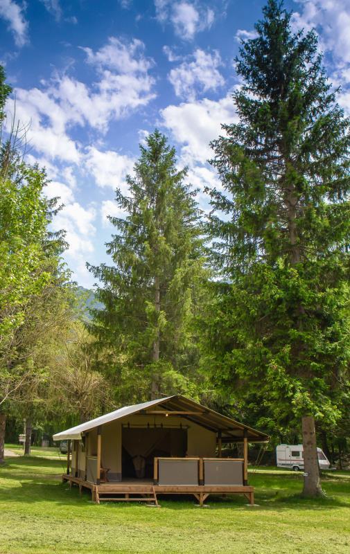Camping La Clairette, Espenel