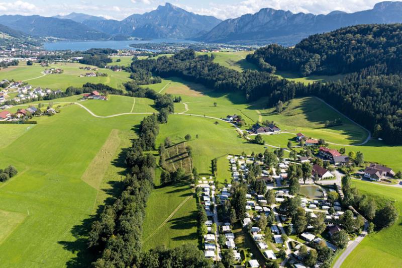 Camping Mondseeland, Tiefgraben