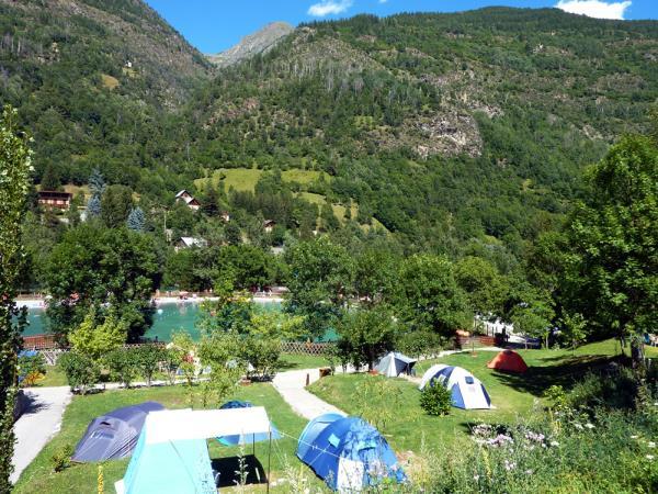 Camping Du Plan D'Eau, Saint-Étienne-de-Tinée