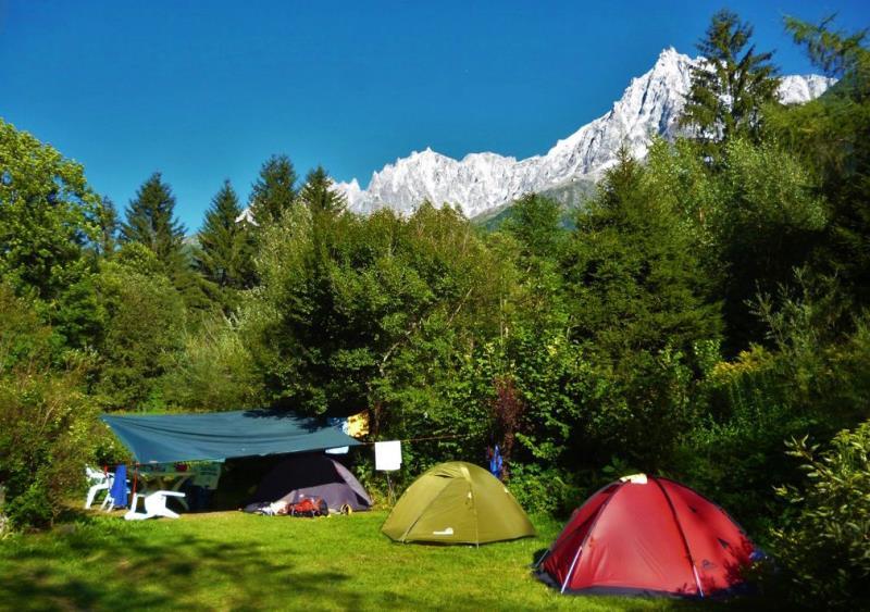 Camping Le Grand Champ, Chamonix Mont Blanc