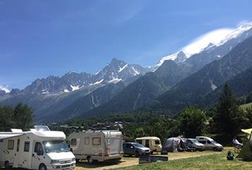 Camping Bellevue, Les Houches