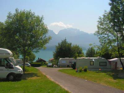Camping Au Coeur Du Lac, Sevrier