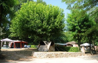 Camping Le Clapas, Salavas