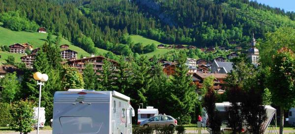 Camping L'Escale, Le Grand Bornand