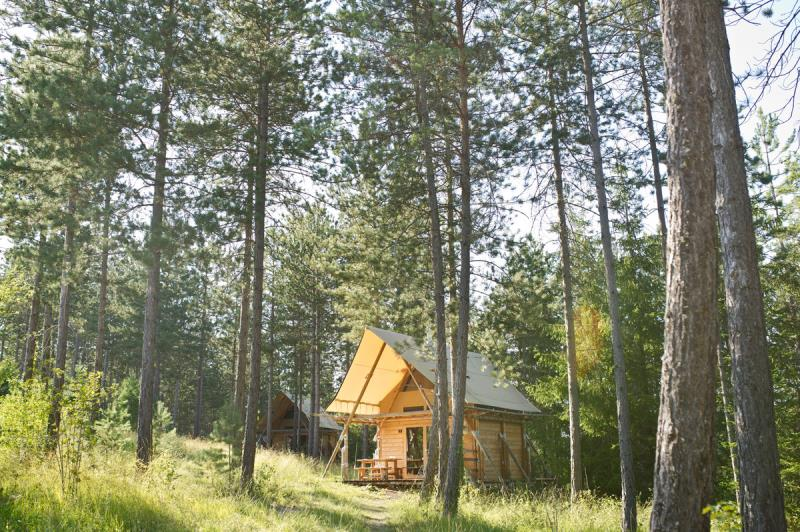 Camping Huttopia Lanmary, Antonne-et-Trigonant