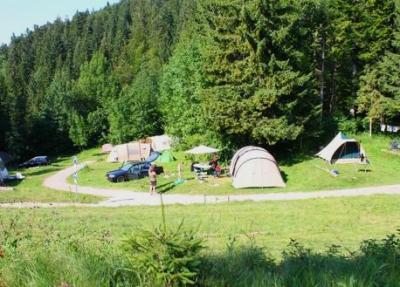 Camping La Favières, Lac Des Rouges Truites