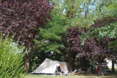 Camping Le Chateau, Hauterives