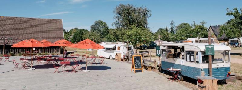 Camping Huttopia Calvados Normandie, Moyaux