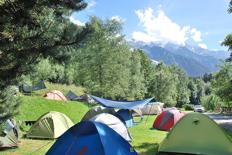 Camping Les Arolles, Chamonix Mont Blanc