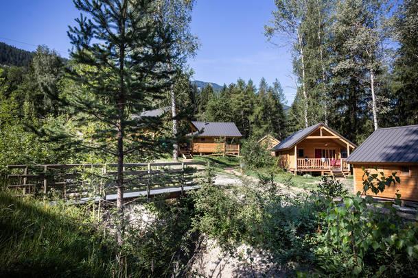 Camping Huttopia Bozel En Vanoise, Bozel